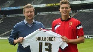 Gallagher made 20 senior appearances for Southampton