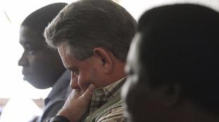 Zimbabwean hunter Theo Bronkhorst in Hwange magistrates court