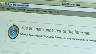Some homes in Woburn Sands near MIlton Keynes have been with phones and internet for a week.