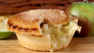 The Bramley apple pie filling has been named a national delicacy