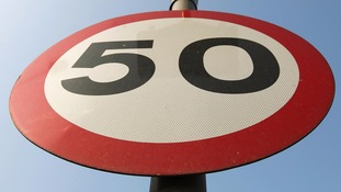A mile-long stretch of the A595 will now have a 50mph speed limit.