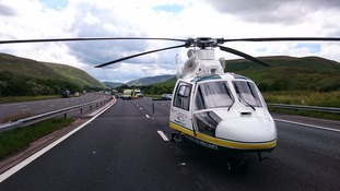 The GNAA was called to the M6 just south of Tebay.