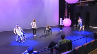 Rehearsals in Wales Millennium Centre