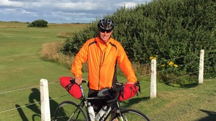 Neil Foster, of Rockliffe, Carlisle, is aiming to cycle 180 miles for charity