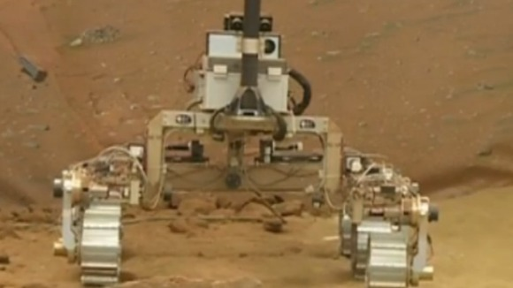 UK&#x27;s Mars Rover being put through its paces