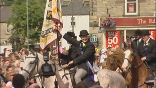 The Langholm Common Riding attracts thousands each year