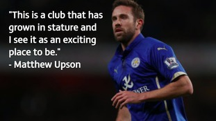 Matthew Upson is happy to be at MK Dons.