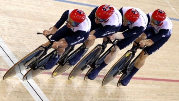 Team GB men&#x27;s team pursuit