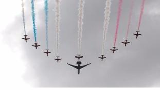 Waddington Air Show 2013