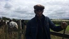 Wilfred Emmanuel-Jones, the man behind the multi-million pound 'The Black Farmer' brand.