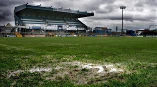 The Memorial Stadium in Bristol.