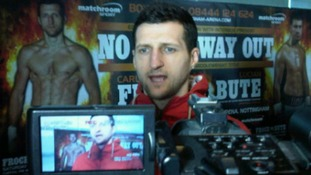 Carl Froch to try and win the IBF super-middleweight title in May