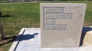 Michael Foot memorial