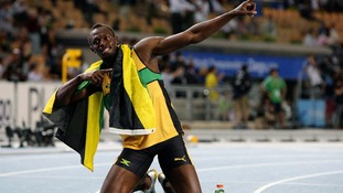 Usain Bolt won three golds at the 2008 Beijing Olympic Games.