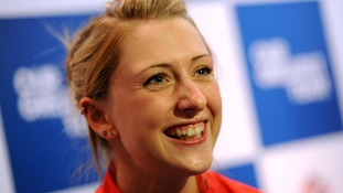 Great Britain's Laura Trott.