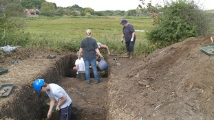 Team of archaeologists reveals secrets of a Suffolk seaside village.