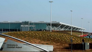 Stansted Airport in Essex.