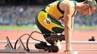 South Africa's 'Blade Runner' Oscar Pistorius.