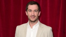 Emmerdale star Anthony Quinlan.