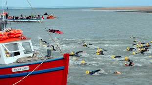 Swimmers splash out to raise funds in Pembrokeshire