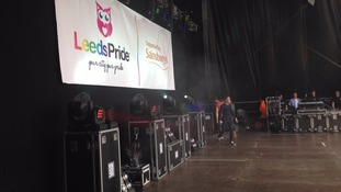 Ray Quinn takes the stage at Leeds Pride