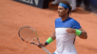 Nadal takes 47th clay court title in Hamburg