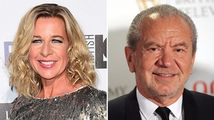 Lord Sugar tells Katie Hopkins to 'shut up' after Twitter comments about Cilla Black's death