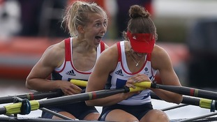 Two Golds and a Silver as Britain's rowers clean up