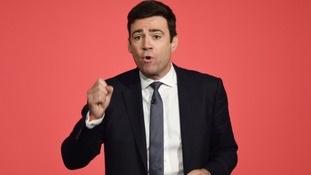 Labour leadership hopeful Andy Burnham.