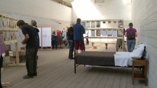 The exhibition has opened at a National Trust property in Devon.