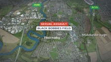 Map of attempted rape in Thornaby