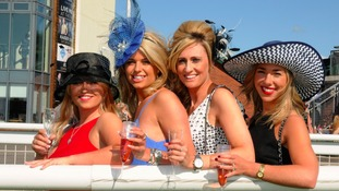 Preparations underway for Ladies' Night at the races