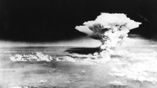 Little Boy is dropped on Hiroshima
