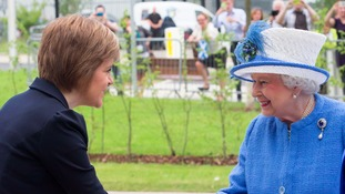 The Queen will be joined by Nicola Sturgeon to travel down the Borders Railway.