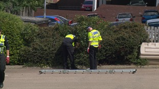 Police searching at Kettering