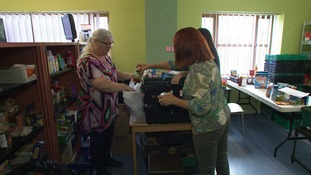 Foodbanks across the region are seeing a surge in demand this summer.