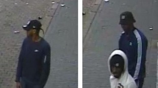 Police want to speak to these men in relation to a street robbery