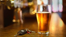 The percentage of people caught driving under the influence increased.