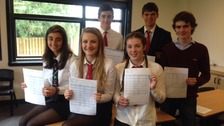 Peebles pupils celebrate exam success