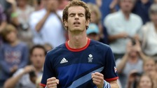 Andy Murray has the chance to win two Olympic gold medals today.
