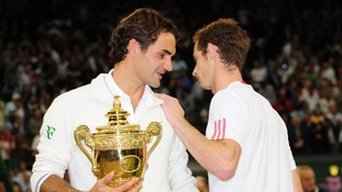 Federer defeated Murray in the Wimbledon men's singles final four weeks ago to the day.