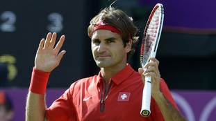 Federer will complete tennis' Golden Slam with victory.