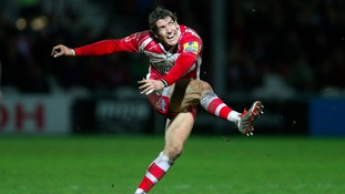 James Hook in action for Gloucester
