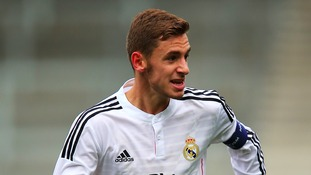 Sergio Molina is joining Stoke from Real Madrid