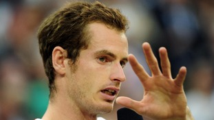 Murray breaks down to tears after losing his third Grand Slam final against Federer last month at Wimbledon.