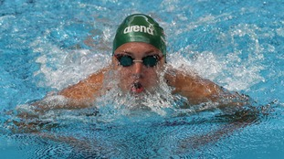 Plymouth swimmer Ruta Meilutyte