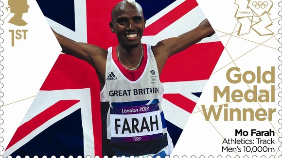 10,000 metres gold medallist Mo Farah.