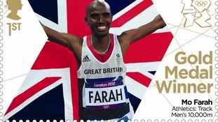 10,000 metres gold medallist Mo Farah.