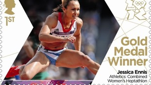 British athletics golden girl Jessica Ennis.