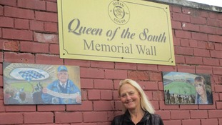 Queen of the South FC launch memorial wall